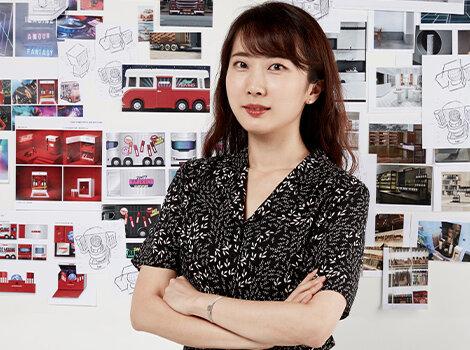 레어카인드 프레스 키트 프로젝트의 전 단계를 담당한 강혜림 디자이너